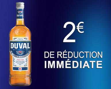 WEBCOUPON DUVAL 2 euros 2019